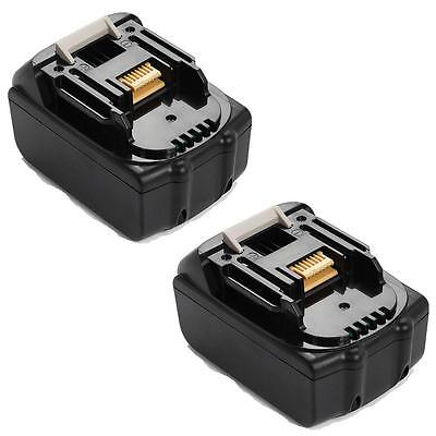 2x For Makita 5.0AH 18V BL1840 BL1830 BL1815 LXT Lithium Ion Battery Heavy Duty