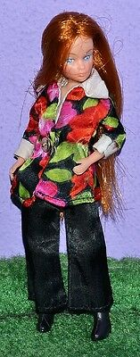 """Uneeda Triki Miki Dollikin 6.5"""" Doll In On The Town & Boots Fashion Woolworths"""