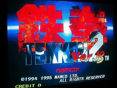 TEKKEN 2 ORIGINAL From NAMCO JAMMA PCB System Working  Condition
