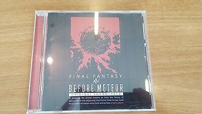 Final Fantasy XIV Before Meteor Blu-ray Soundtrack (A Realm Reborn) Minty w/ OBI
