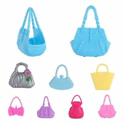 Lot of Mixed Vintage & Modern Doll Accessories Bags Handbags For Barbie Doll Toy