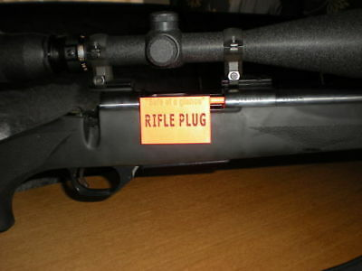 Full Bore Rifle Gun Safety Flag SAF T PLUG Breech Safety Feature