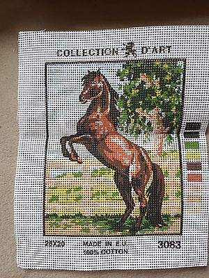 REDUCED tapestry canvas stallion
