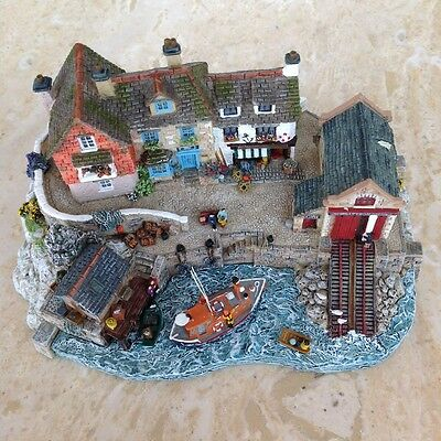"""RNLI Collection Danbury Mint -Jane Hart """"Safely Home"""" Boxed with Certificate"""