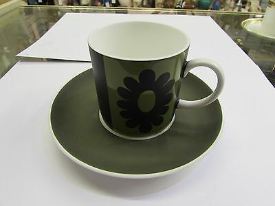 Wedgwood Susie Cooper ' Carnaby Daisy' Cup and Saucer