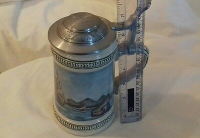 Stein about 17 cms - millenium 2000 lid - nearly 1 kgm