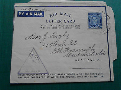Air Mail Letter Card