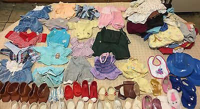 Vintage Huge Lot Original Cabbage Patch Dolls Clothing Shoes from the 80s CPK