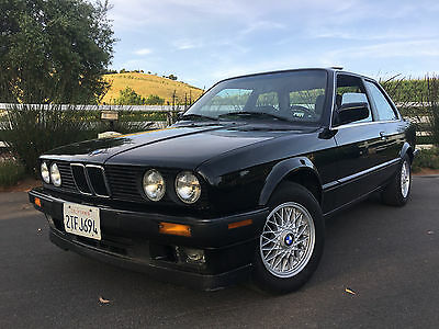 1990 BMW 3-Series 325is 1990 BMW 325is Very Clean Original Two Owner California Driver