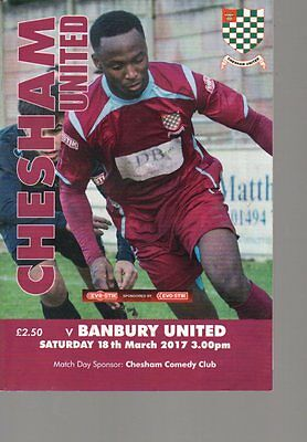 2016-17 - Chesham United v Banbury United 18.3.2017