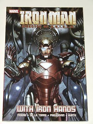 Iron Man: Director of SHIELD - With Iron Hands TPB (2009 Marvel)