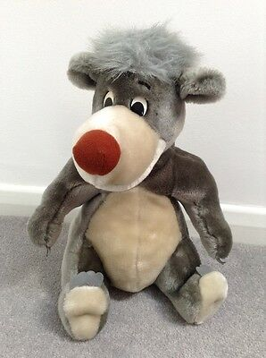 Baloo The Bear Plush Soft Toy. The Jungle Book. The Disney Store.