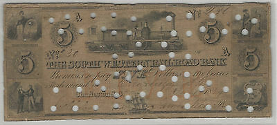 The South Western Rail Road Company - $5