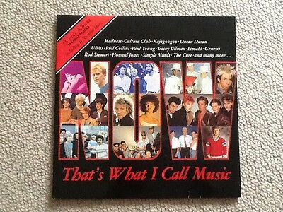 Now That's What I Call Music 1  1983 Original Double  Vinyl Album Excellent Cond