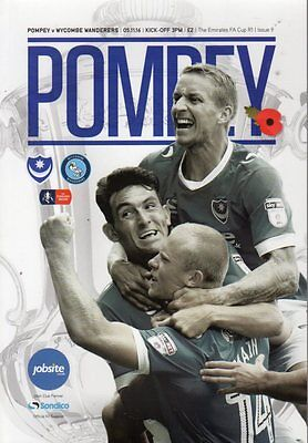 2016-17 - Portsmouth v Wycombe Wanderers FAC 5.11.2016