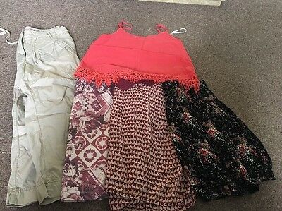 Bundle Of Ladies Summer Clothing Size 8 5 Items Job Lot Summer
