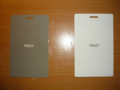 ADIDAS x Kanye West YEEZY Season 2 Lanyard Pass FASHION WEEK NYC 2015 collector