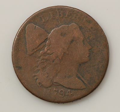 1794 Capped Liberty Early Large Cent *Q42