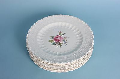 4 Copeland Spode Jewel Line Billingsley Rose luncheon plates (2 groups available