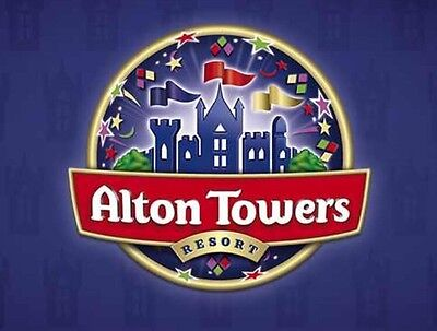 ALTON TOWERS TICKETS X 4  11th July 2017