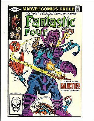 Fantastic Four # 243 (John Byrne Story & Art, Galactus, June 1982), Vf/nm