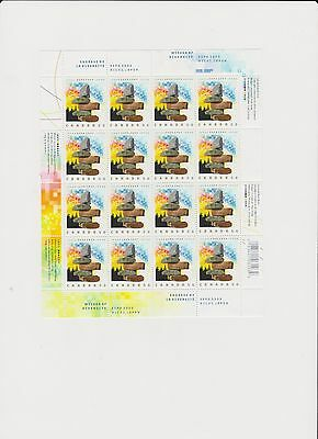 Stamps Canada #2090 Expo 2005 Aichi, Japan, Full Sheet 16 x 50 cents MNH