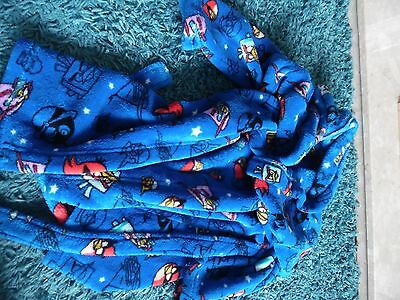 Angry Birds Space Next Kids Dressing Gown Blue Age 6