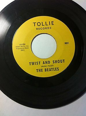 The Beatles Twist And Shout Tollie Label