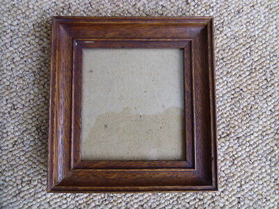 Antique Vintage Miniature Portrait Picture Frame With A Few Lovely Markings
