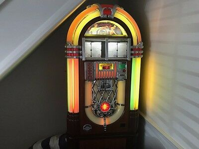 Wurlitzer Princess OMT CD Jukebox. Owned Since 2008, House Move, Must Sell.