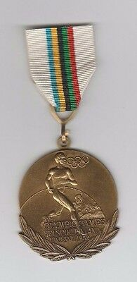 remembrance medal   XV.Olympic Games HELSINKI (Finland) 1952  !!  EXTREM RARE
