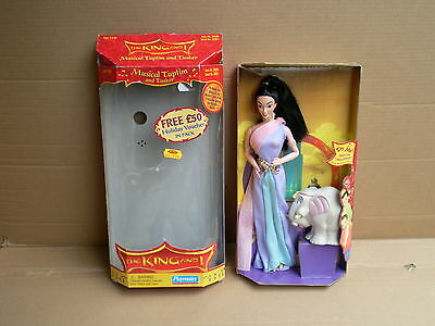 The King and I Tuptim and Tusker Barbie Doll Set Film Disney Collection 1999