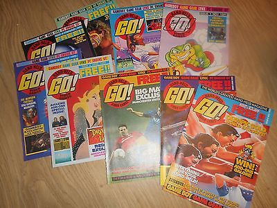 Vintage Hand-Held Go! Video Games Magazine - 18 Issues Computer And Video Games