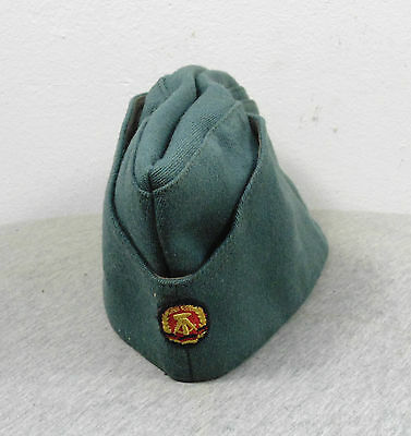Vintage Post Ww2 Germany Ddr Military Army Soldier Hat Cap Marked Mdi 1856 70/98