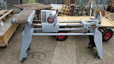 Shop smith wood lathe,sander,saw and power station and planer BARN FIND