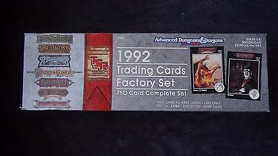 Advanced Dungeons & Dragons Trading Card Premium Set 1992 750 Karten KOMPLETT