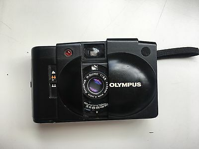 Olympus XA2 with sharp D-Zuiko 35mm f/3.5 wide angle lens