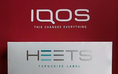IQOS Heatsticks HEETS Turquoise Label Heat sticks,200 sticks