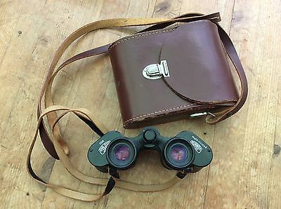 Vintage Carl Zeiss Jena DDR 8 x 30W Binoculars & Leather Case