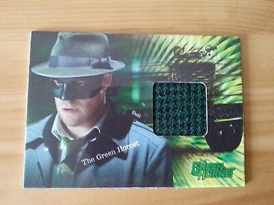 Green Hornet Seth Rogen Pieceworks Costume Worn Trading Card Ltd To 500 W/wide
