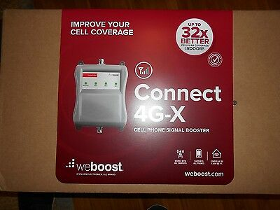 weBoost Connect 4G X Cell Phone Signal Booster Home Office 471104 7500 Sq-Ft