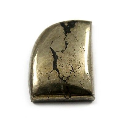 24.60 cts Natural Pyrite Apache Gold Cabochon Fancy Beautiful Loose Gemstone