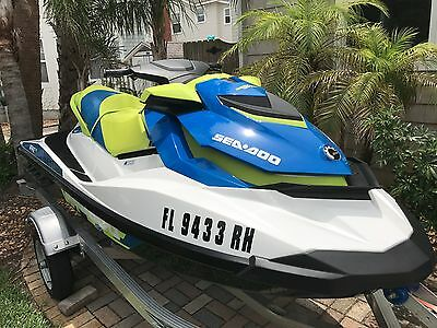 2017 Sea-Doo Wake 215, only 16 hours, warranty until 2022
