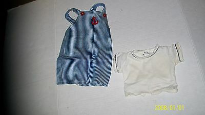 fits CABBAGE PATCH KIDS BOYS OVERALLS OUTFIT