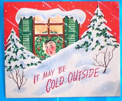 Vintage Christmas Pop up Card-Made in U.S.A.-Christmas Comics On Parade-5323