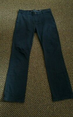 criminal slim fit trousers size w32 L32