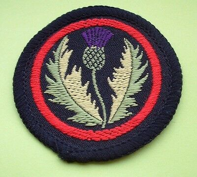 Girl Guide Patrol Emblem - Thistle