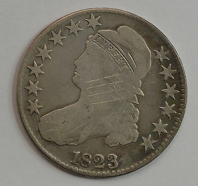 1823 Capped Bust Half Dollar *G37