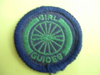Old Type Girl Guide Badge- Cyclist