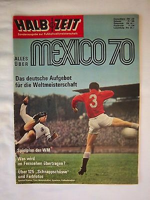 Orig.Complete PRG    World Cup MEXICO 1970  -  Special Edition B  !!  VERY RARE